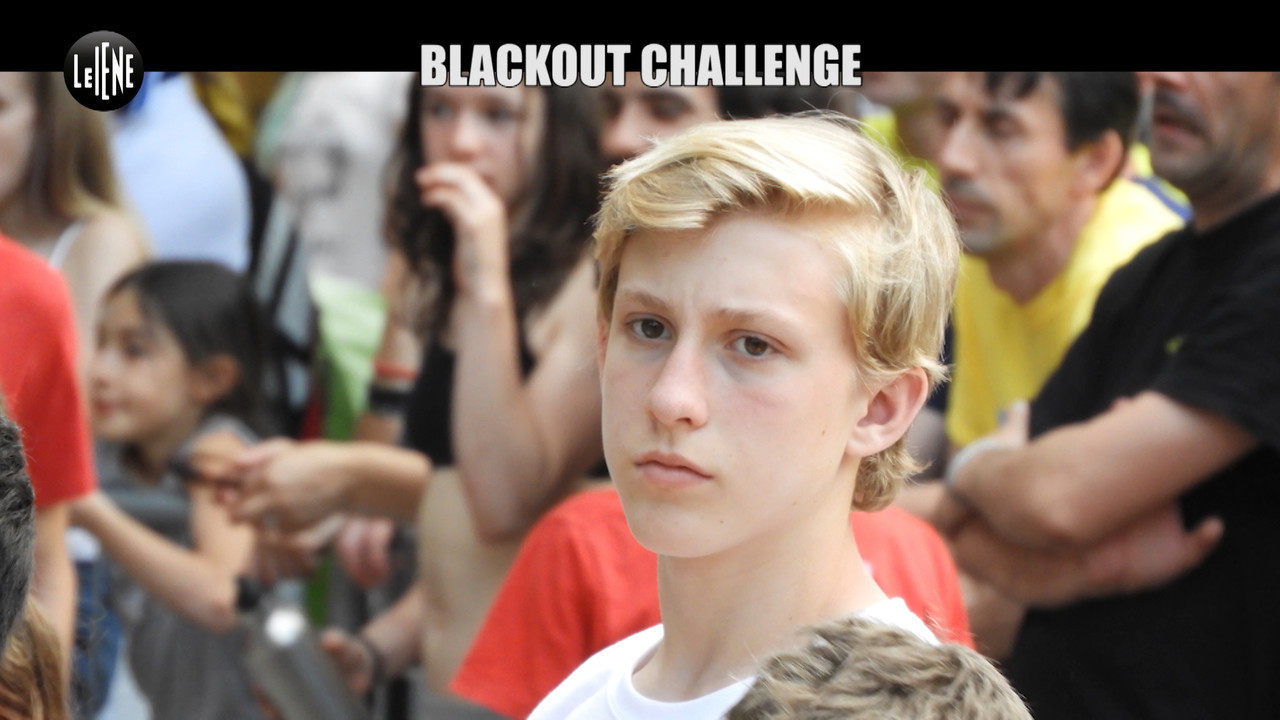 Sfide online web blackout challenge igor morto