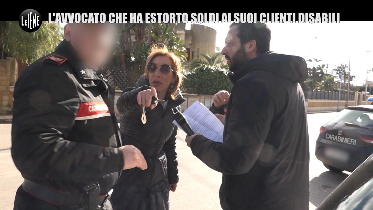 Francesca Picone avvocato condannata estorsione famiglia disabili