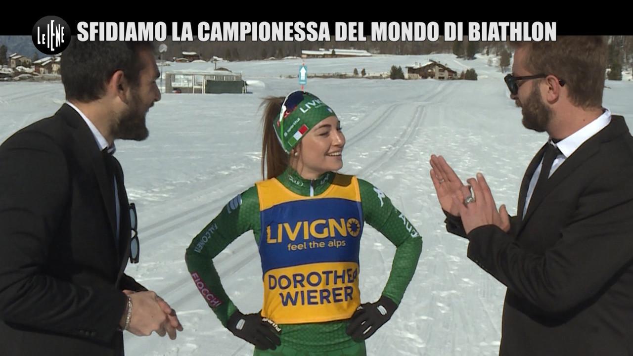 Dorothea Wierner campionessa mondiale biathlon sfida Corti Onnis