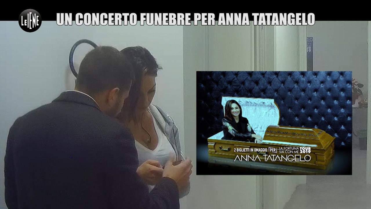 Anna tatangelo scherzo tour agenzia funebre fortuna bare mitch