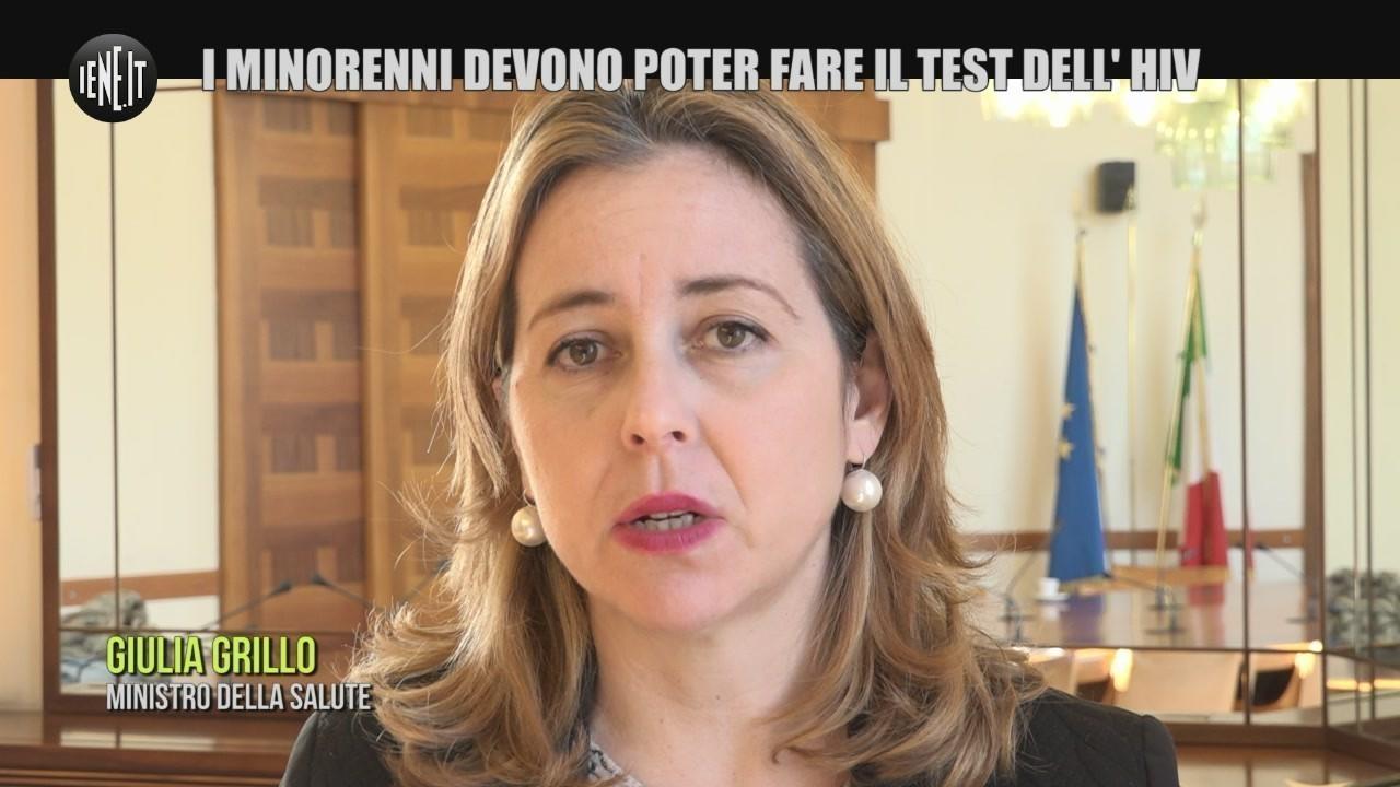 test hiv libero minorenni garante ministra grillo