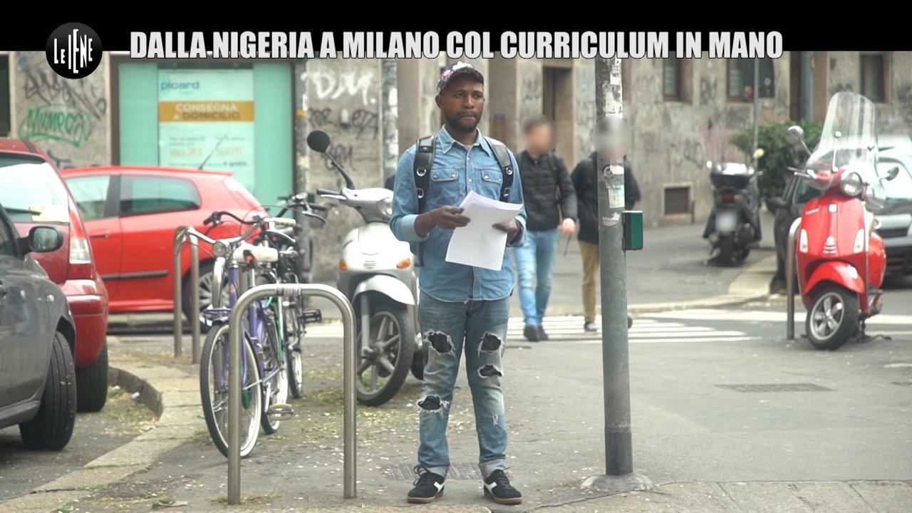 Nigeria milano collins offerte lavoro curriculum migrante barcone