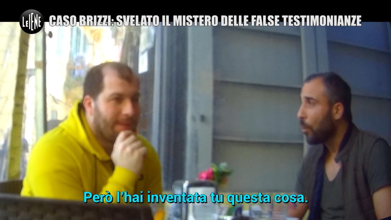 Brizzi Fausto molestie falsa testimonianza Alessandro Rosica