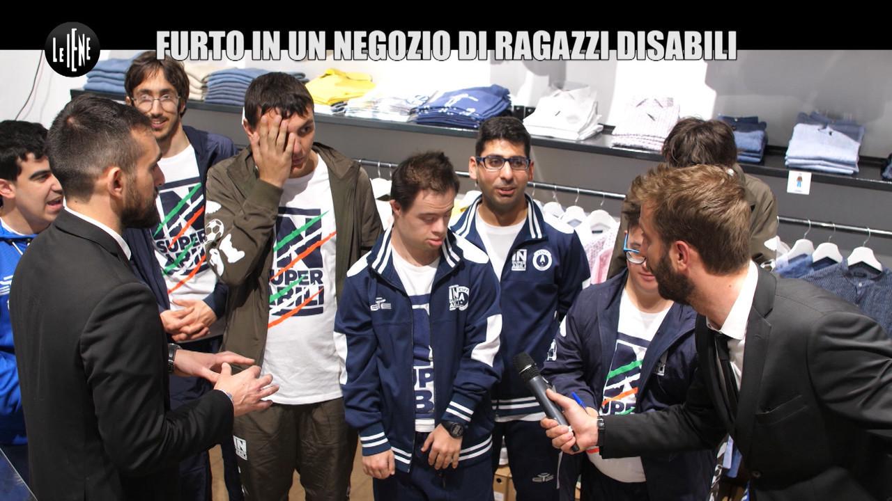 CORTI E ONNIS: Furto ai ragazzi Down: magliette di calciatori all'asta