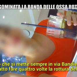 truffa assicurazioni Palermo spaccaossa Elena racconto fratture incidenti