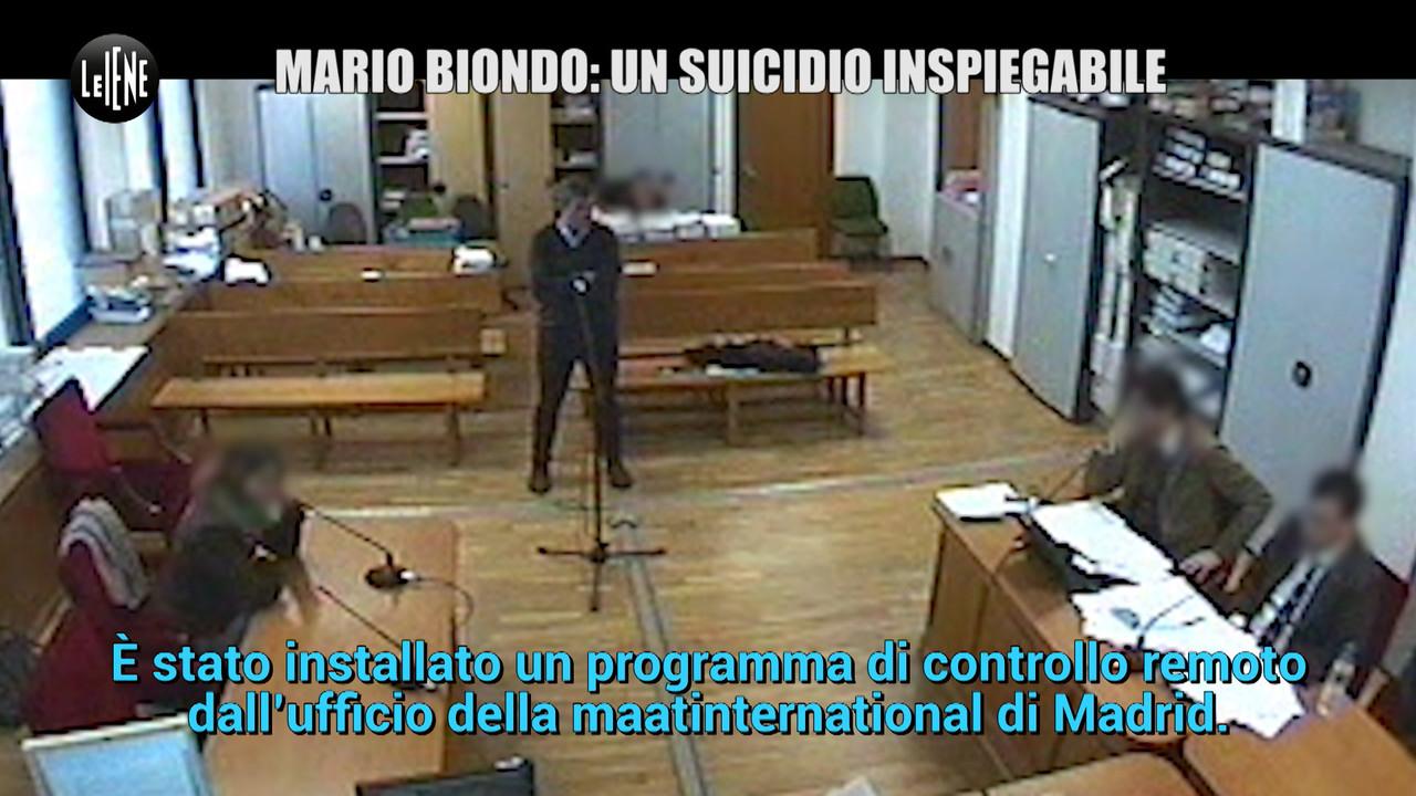 Biondo: il suicidio inspiegabile e le modifiche al pc | VIDEO