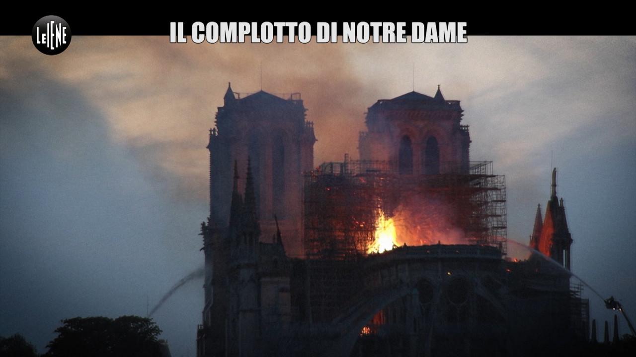Complottisti e terrapiattisti scatenati su Notre Dame | VIDEO
