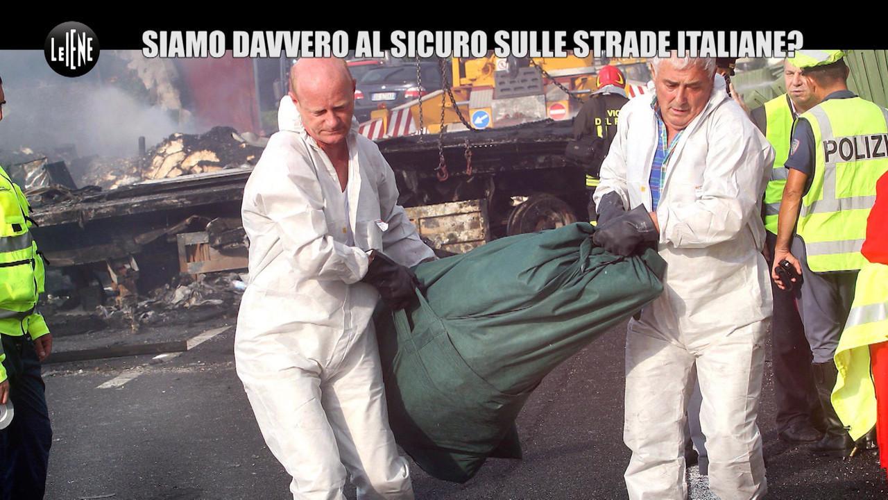 autostrade incidenti new jersey morti toninelli guard rail