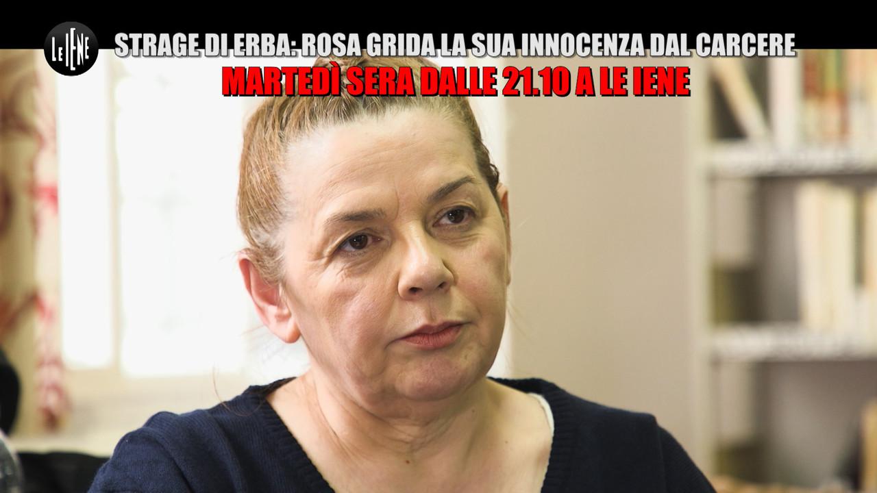 ESCLUSIVO // Strage di Erba, Rosa Bazzi torna a parlare di Pietro Castagna | VIDEO