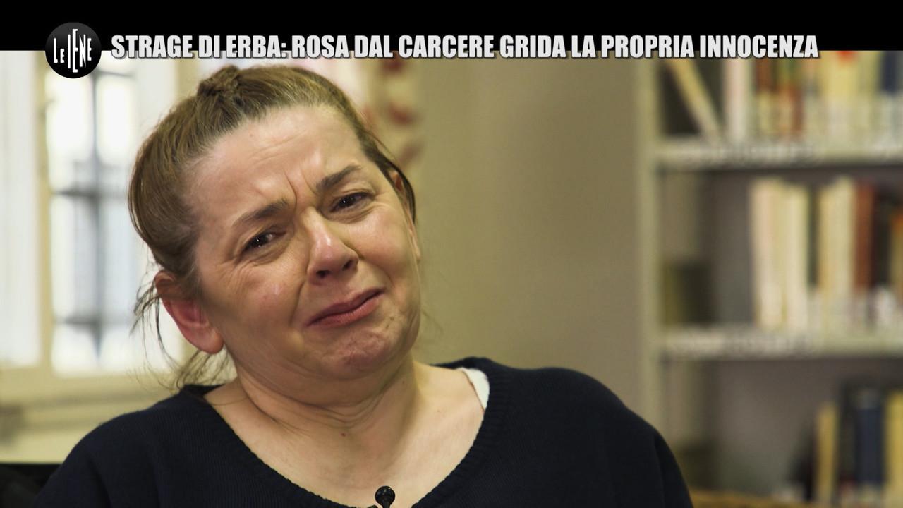 Rosa Bazzi strage Erba intervista esclusiva carcere Pietro Castagna