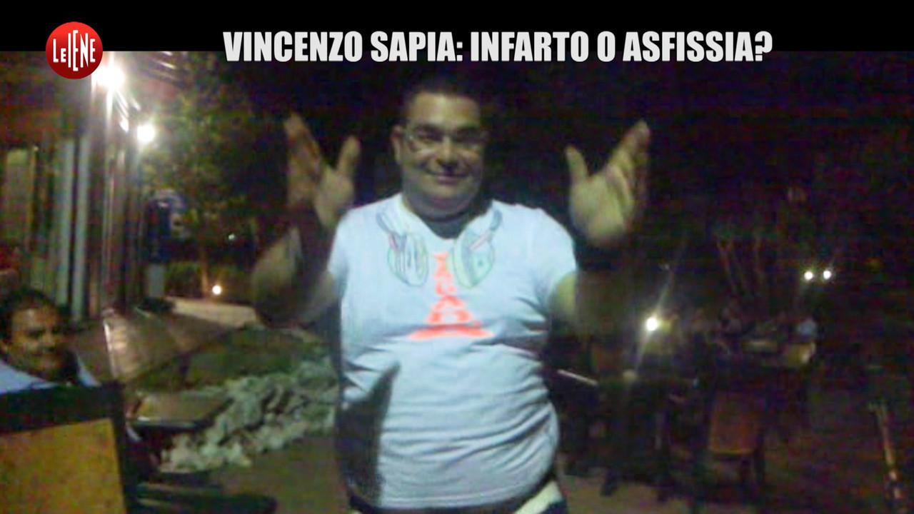 Vincenzo sapia morto crosia infarto asfissia carabinieri politi