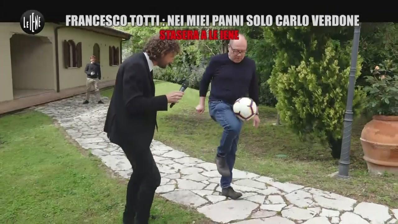 Iene anticipazione Totti Verdone 2