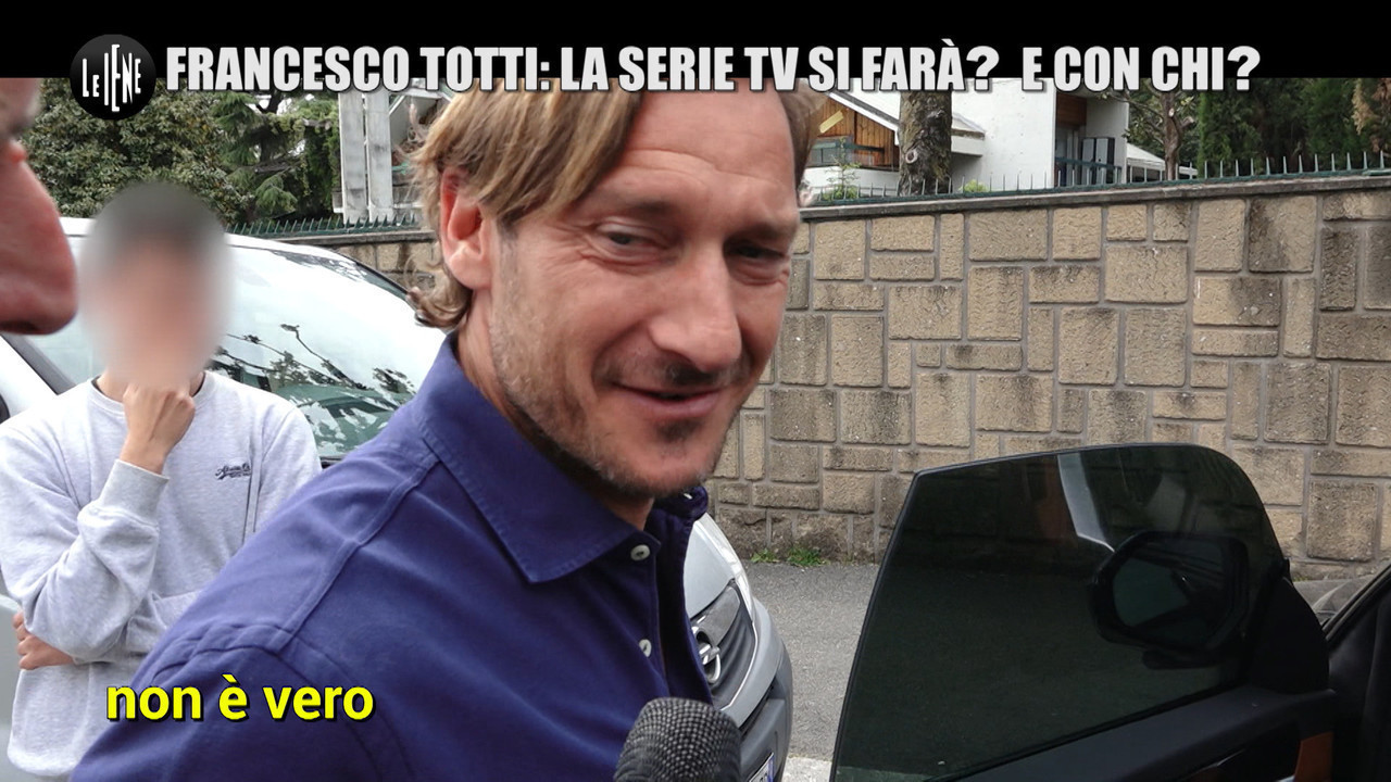 Francesco totti carlo verdone fiction