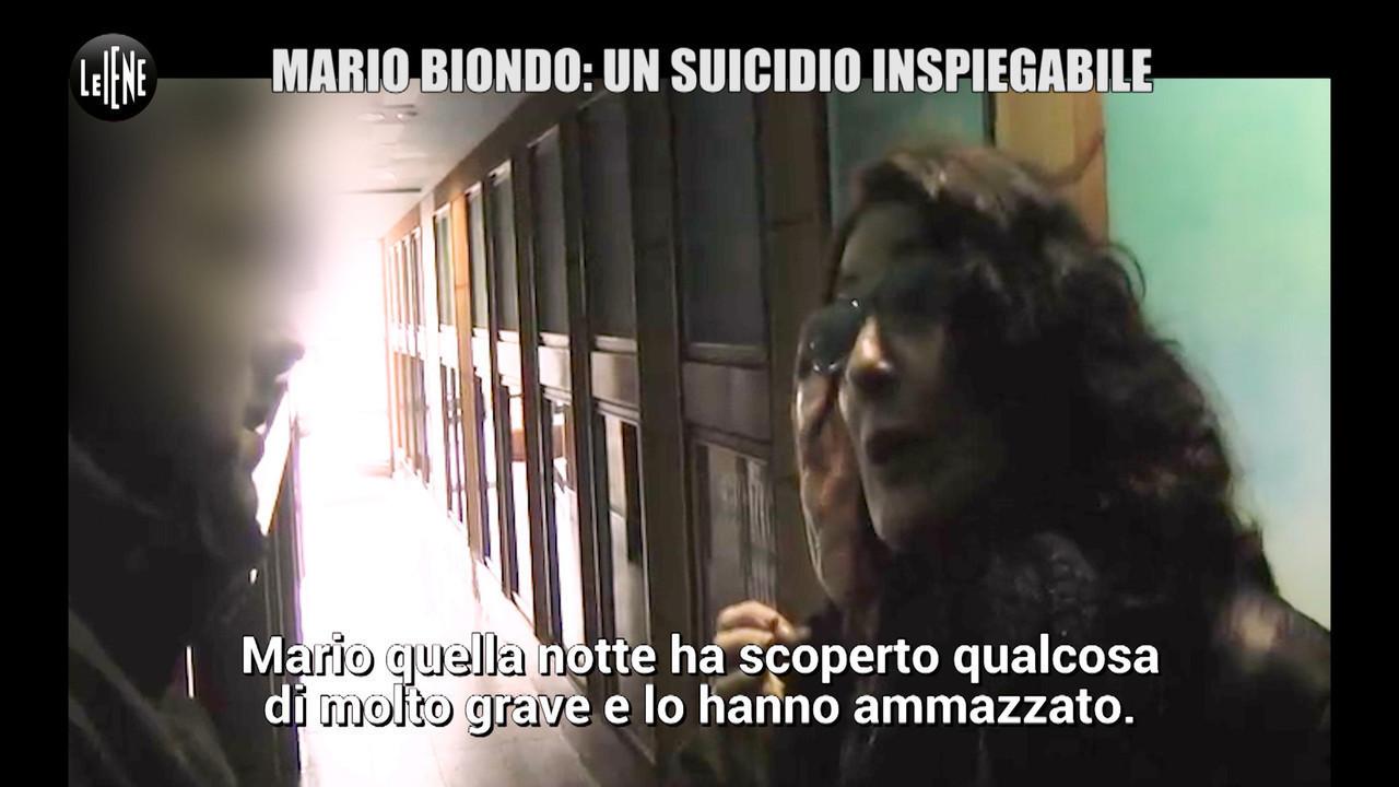Mario biondo suicidio morte moglie computer