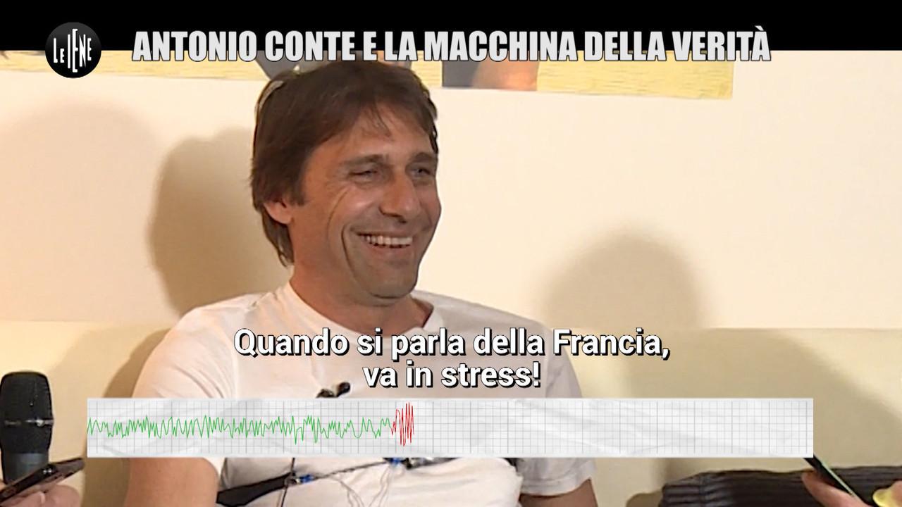 Antonio conte macchina verita calcio mercato inter psg