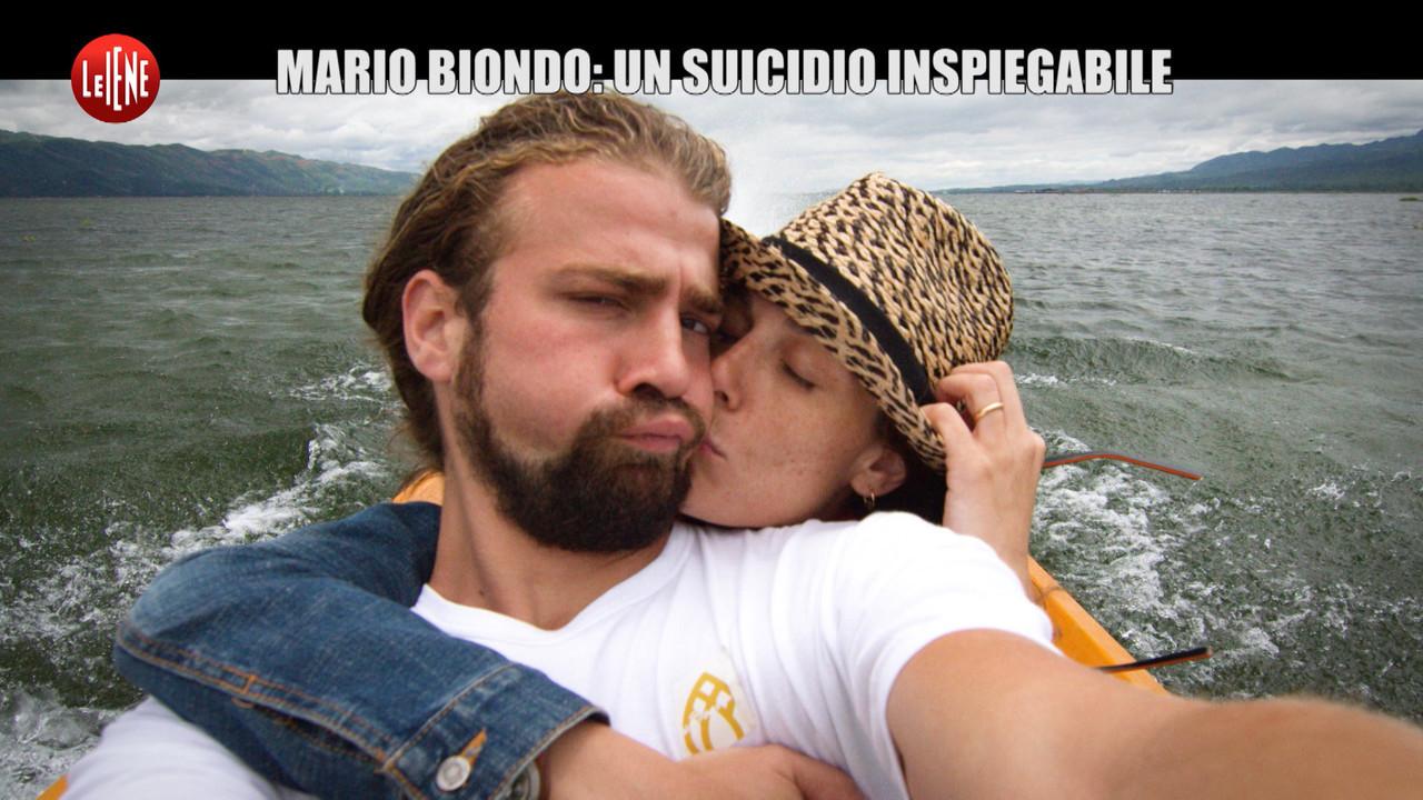 Suicidio mario biondo morte omicidio droga alcol