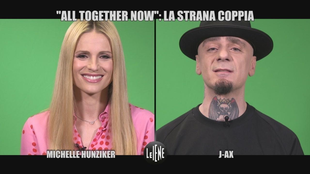 La strana coppia Michelle Hunziker e J-Ax