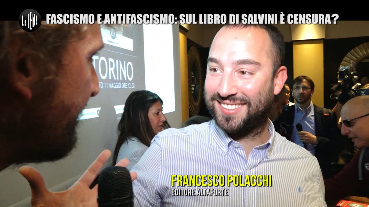 """ROMA: L'editore """"fascista"""" di Salvini contro la censura"""