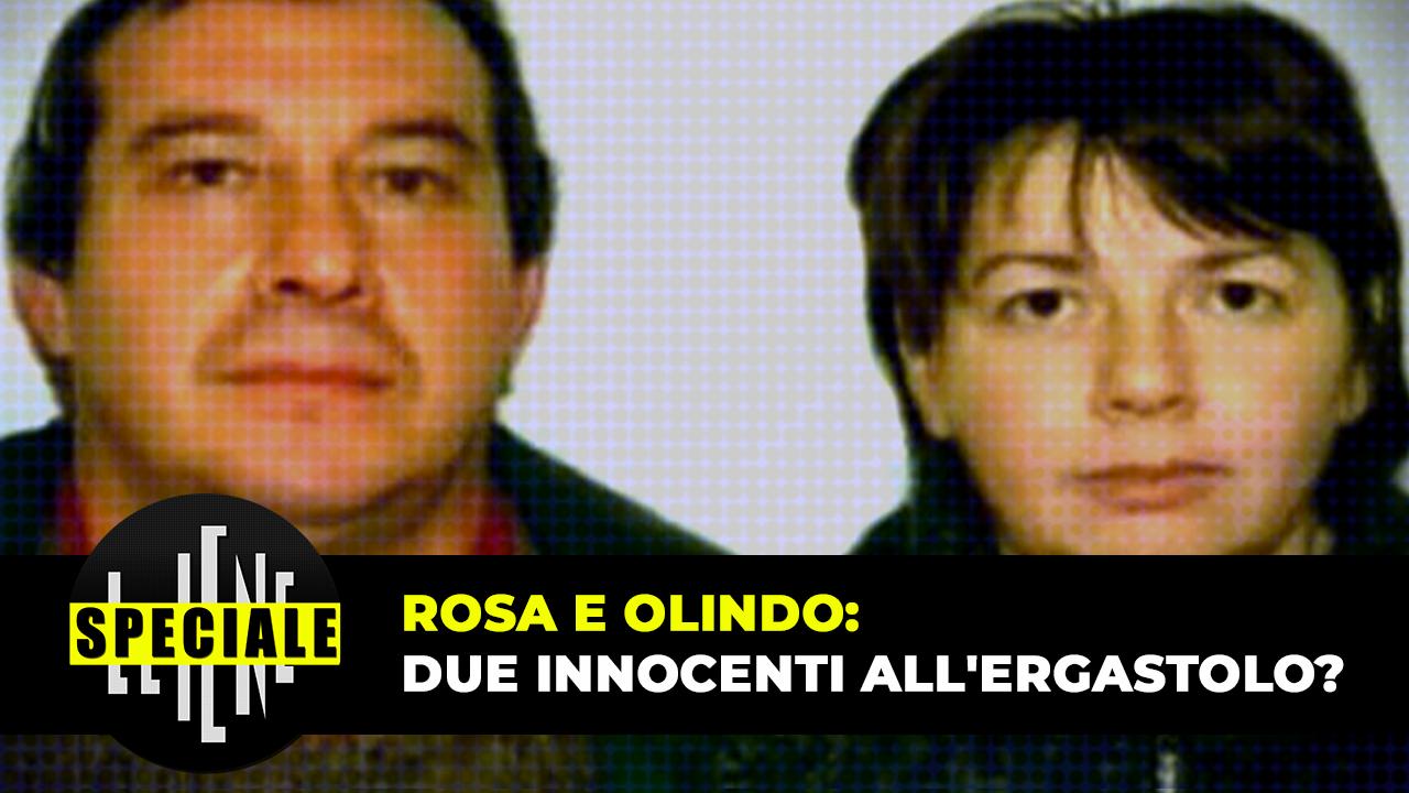 Strage Erba speciale Iene integrale Olindo Rosa innocenti ergastolo