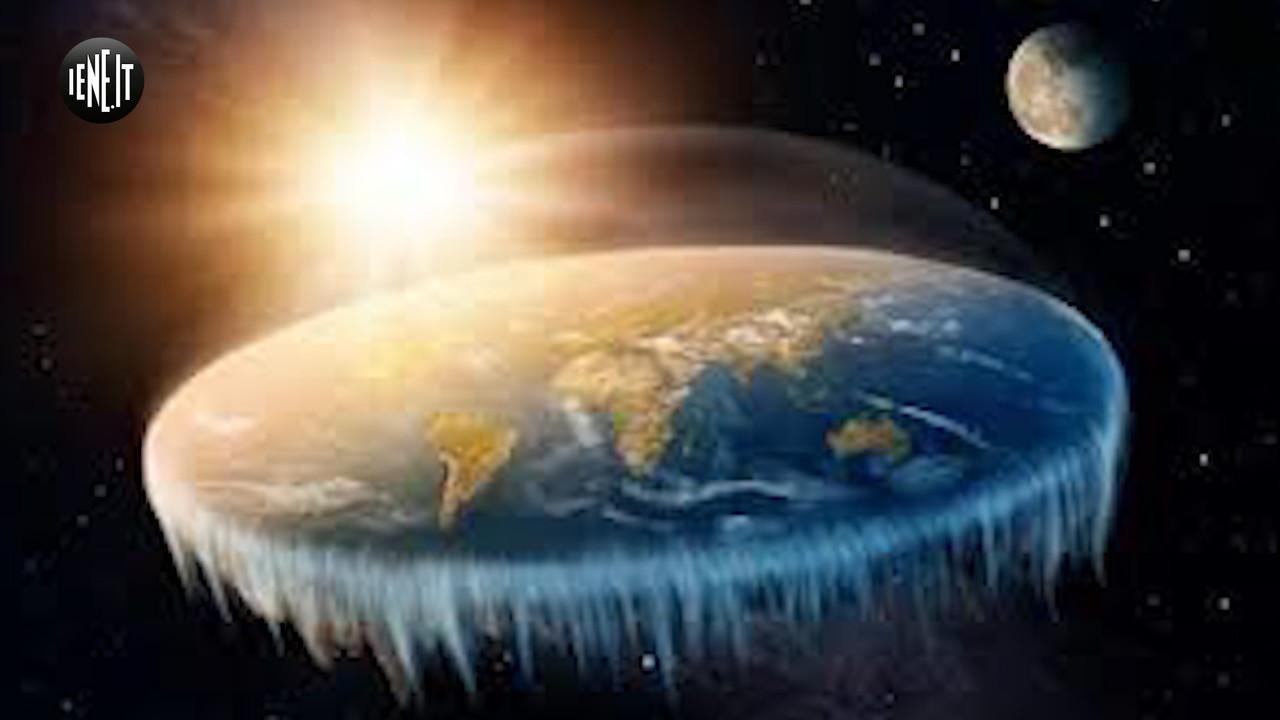 convegno  terrapiatta  palermo torri gemelle etna curvatura terrestre