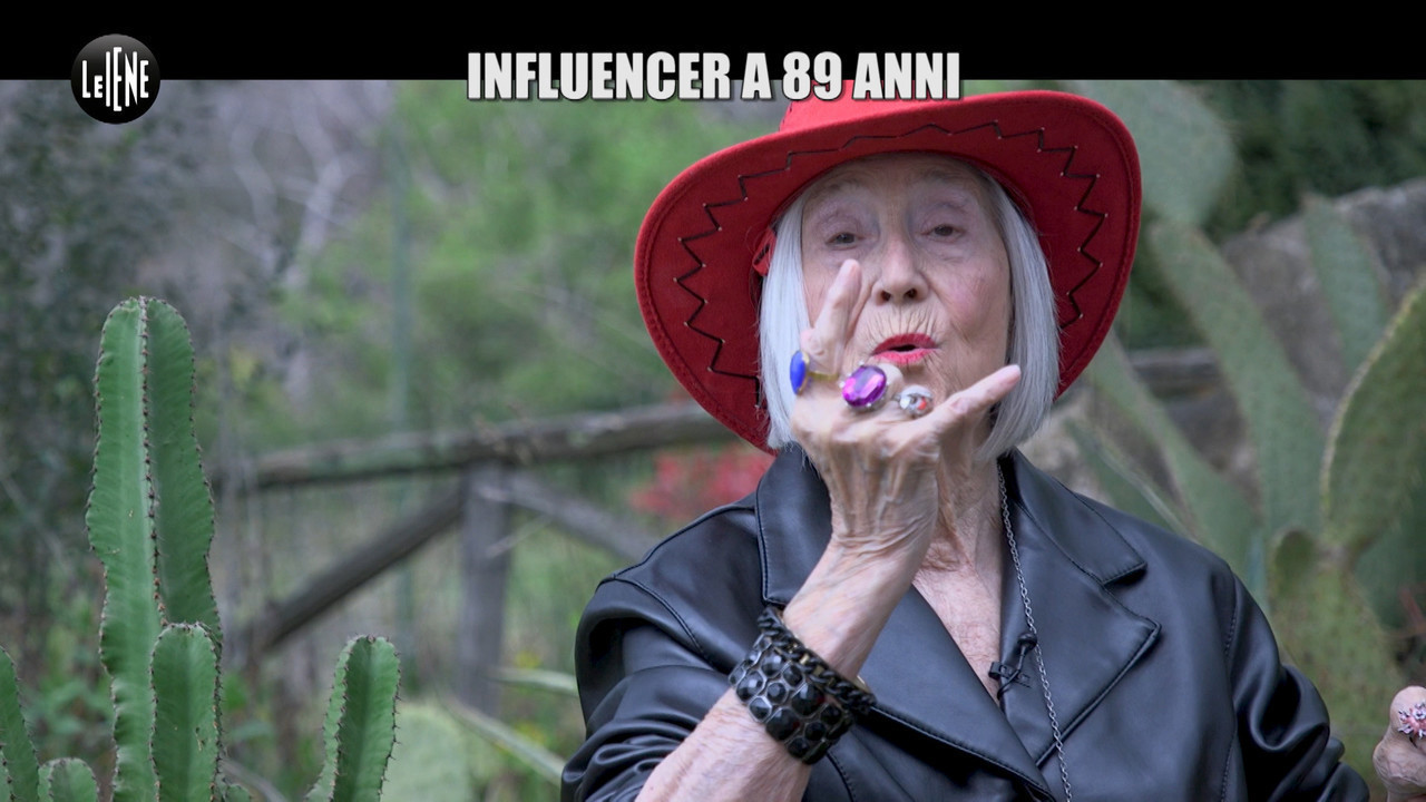 Licia Fertz nonna influencer instagram julian hargreaves 89 anni