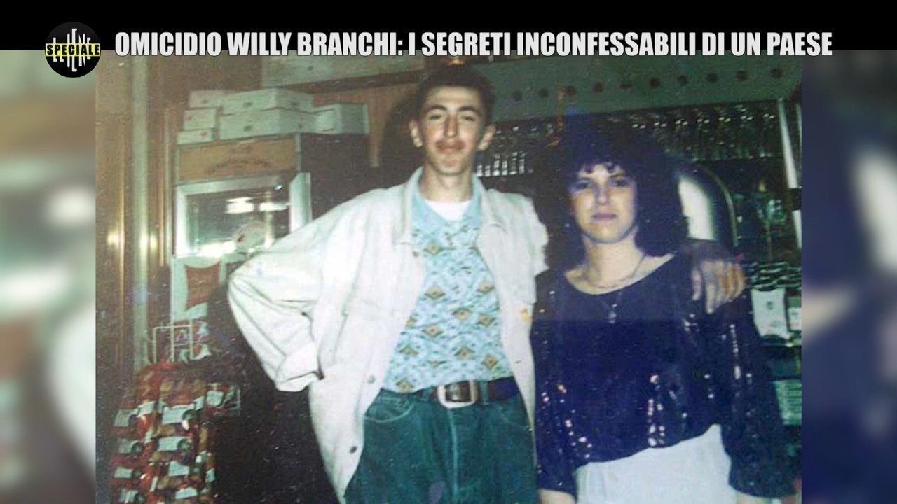 Willy Branchi omicidio festini gay assassino tutto speciale Iene