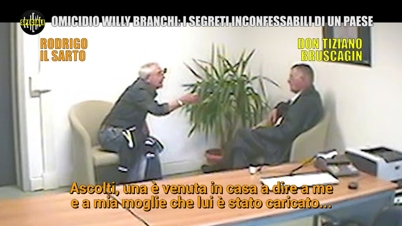 Willy Branchi omicidio speciale Iene festini gay