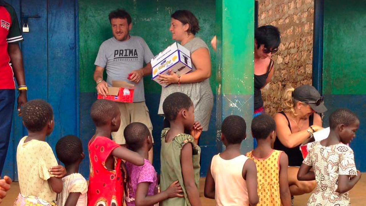 Tiziana Beltrami e Africa Milele