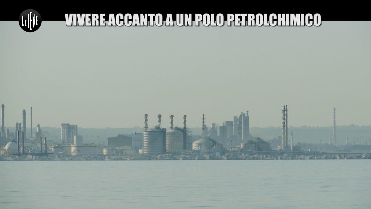 Inquinamento ambiente bomba ecologica siracusa raffineria amianto tumori cancro
