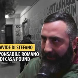CasaPound palazzo occupato Roma sede disposti sloggiare Di Stefano