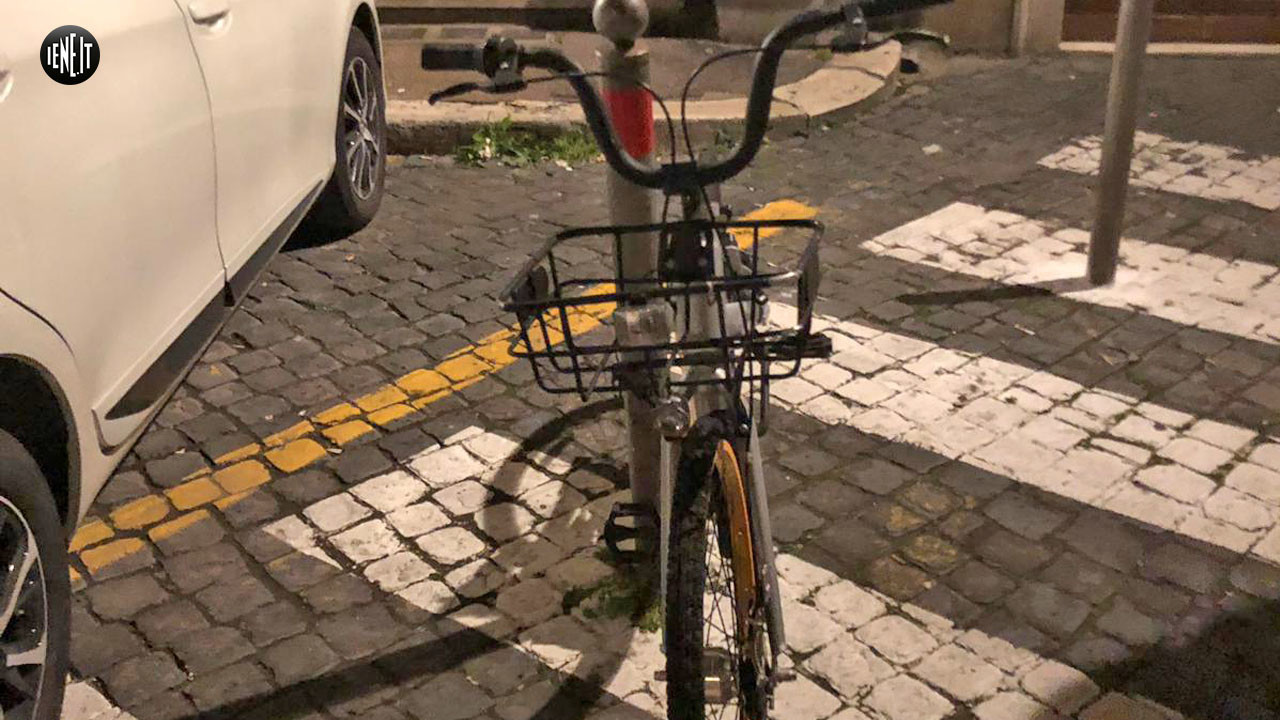 Bike-sharing a Roma: le bici abbandonate