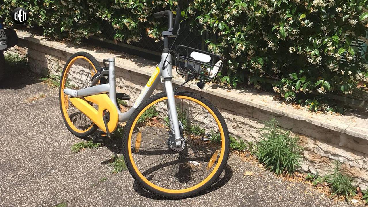 biciclette obike roma bike sharing