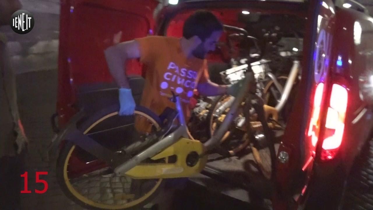 volontari bici obike roma