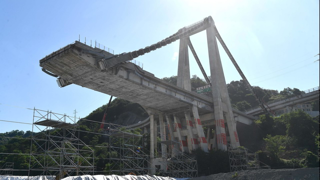 "Ponte Morandi: ""Cavi corrosi al 100%"" 
