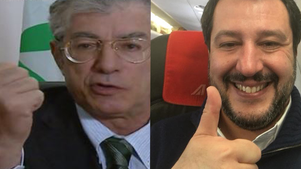 Bossi vs Salvini, trovate voi differenze (e analogie)? | VIDEO