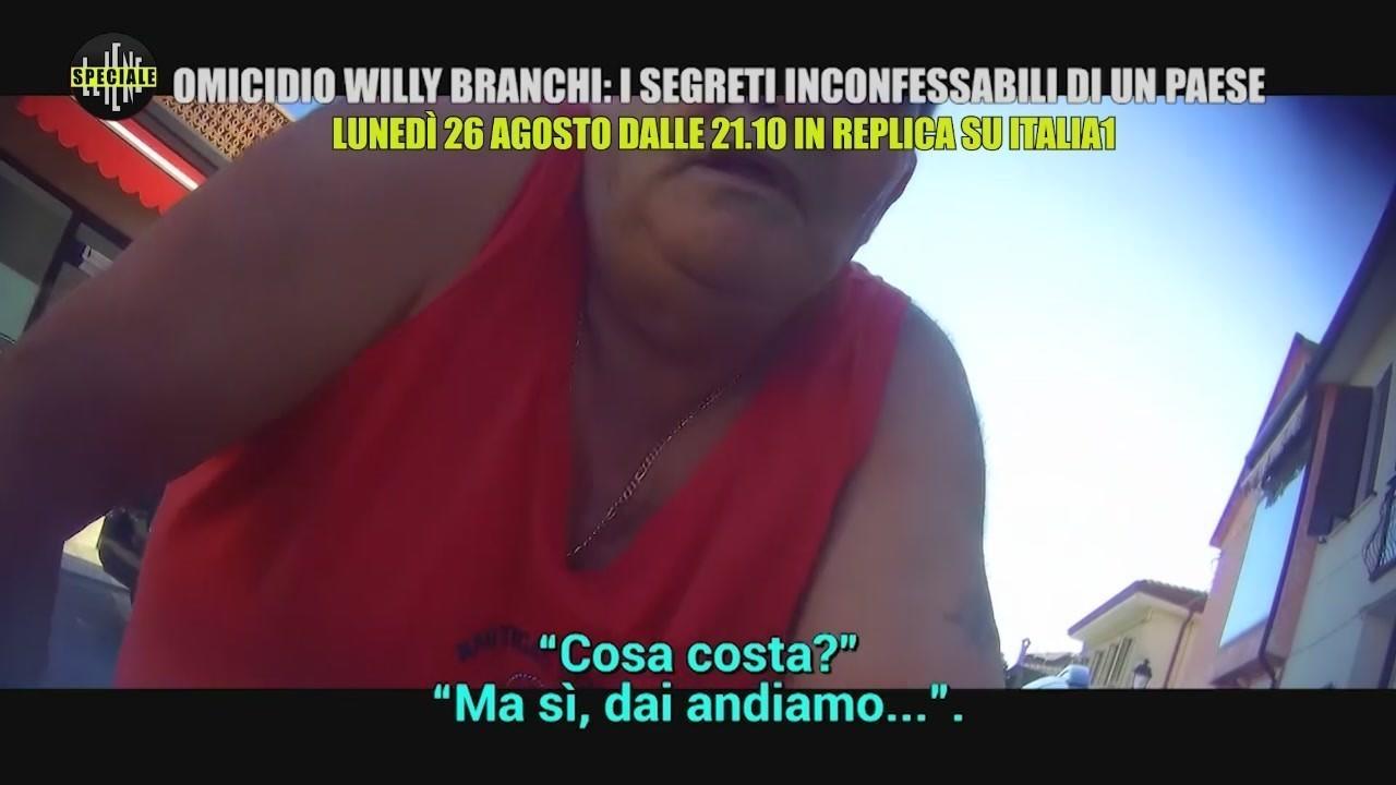 omicidio willy branchi speciale replica italia1