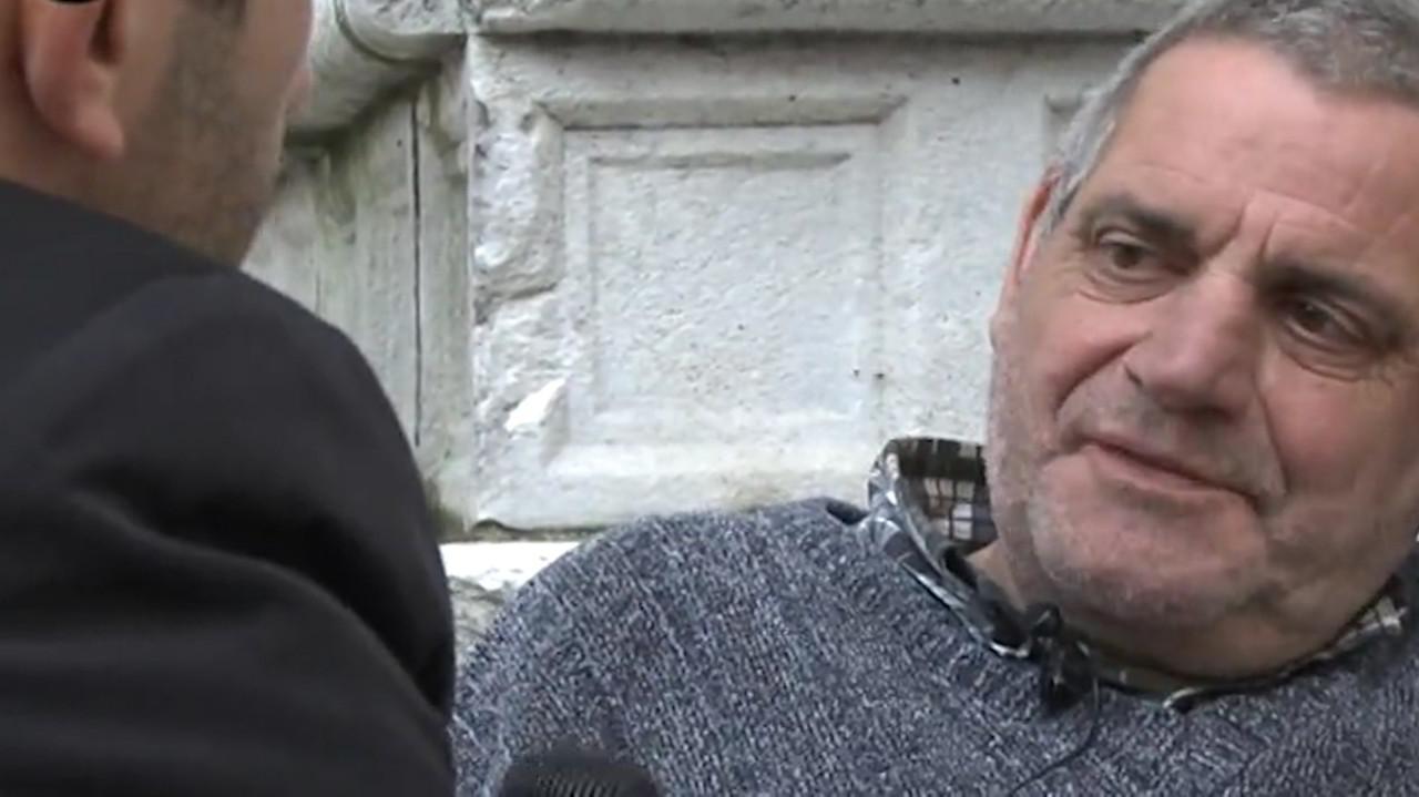 Giovanni, senzatetto orgoglioso che aspettava la pensione
