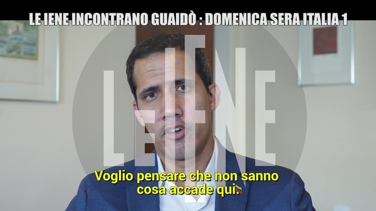 Venezuela Guaido Juan Maduro M5S intervista esclusiva Iene