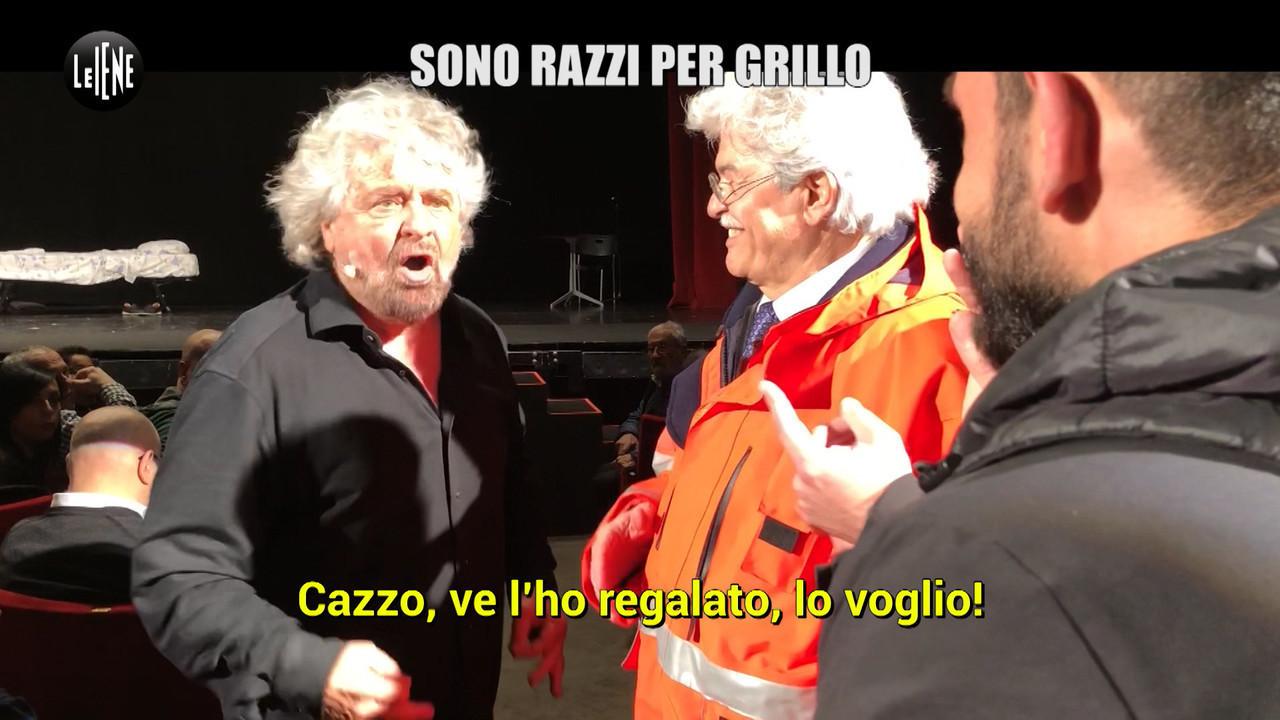 Grillo Beppe Abruzzo ambulanza sconfitta elezioni M5S