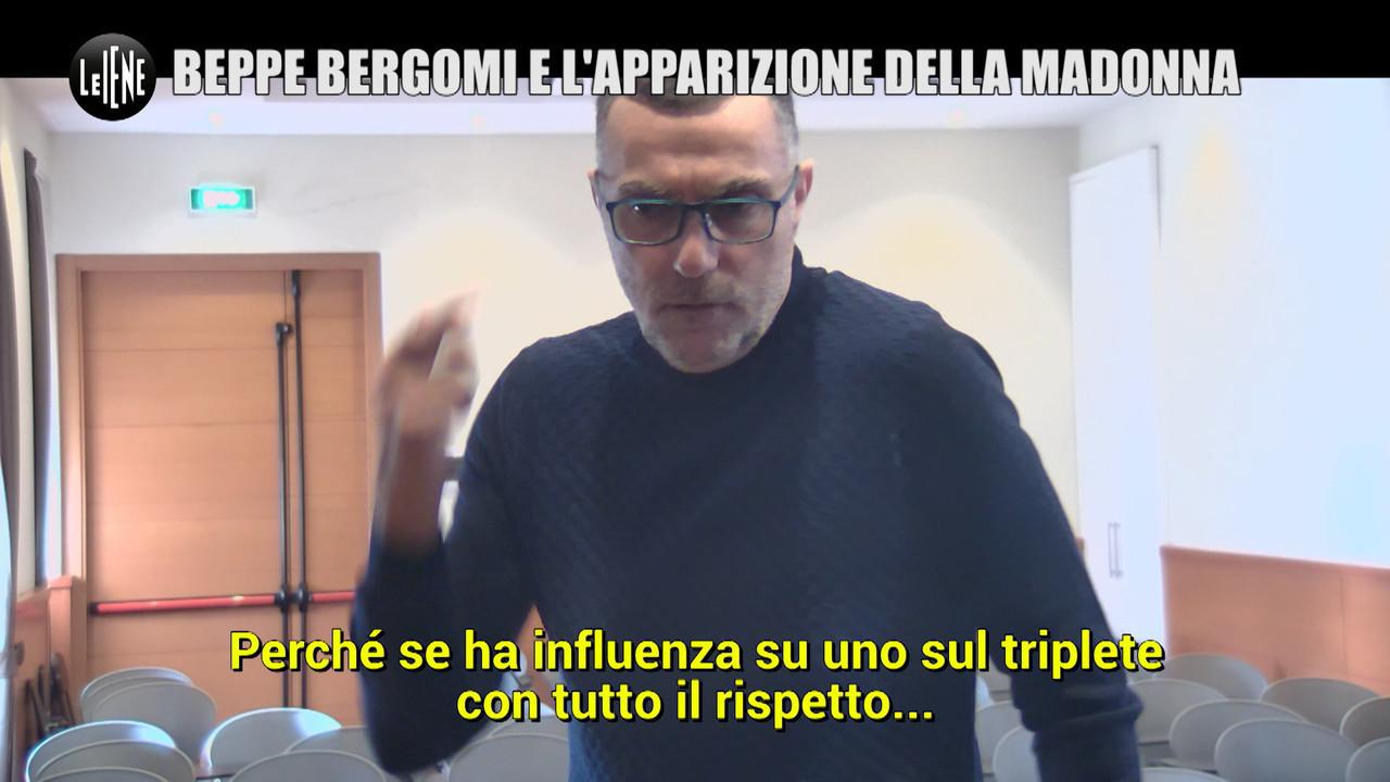 Zio beppe bergomi inter triplete juventus scherzo madonna