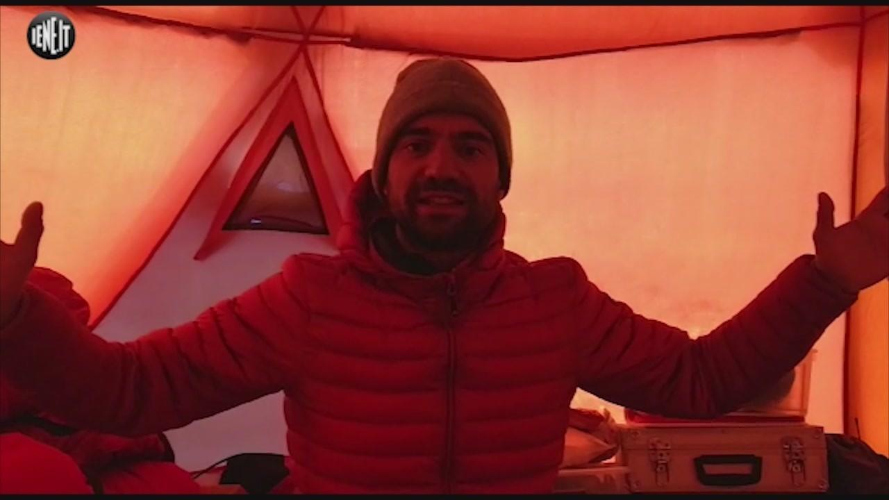 Nardi Daniele scalata Mummery Nanga Parbat Pakistan tenda video
