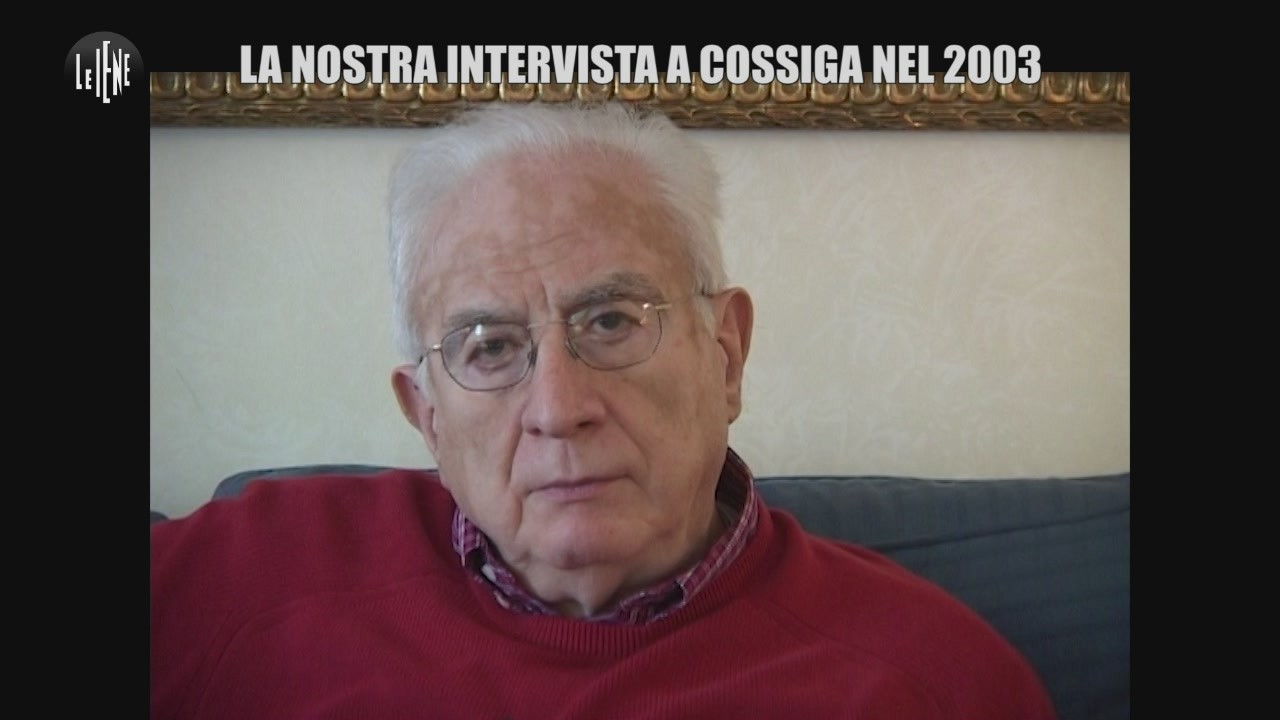 Cossiga Francesco intervista Iene amnistia terroristi partigiani