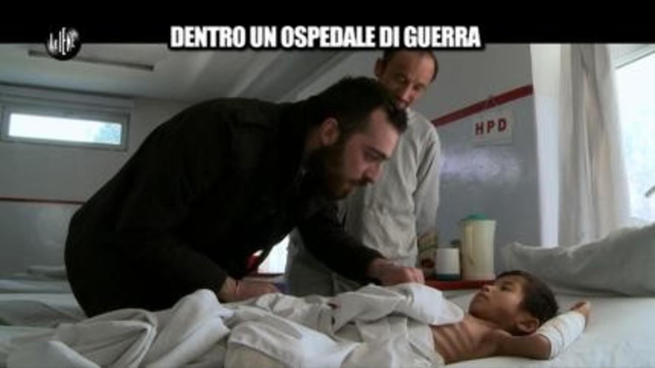 MAISANO: Dentro un ospedale di guerra