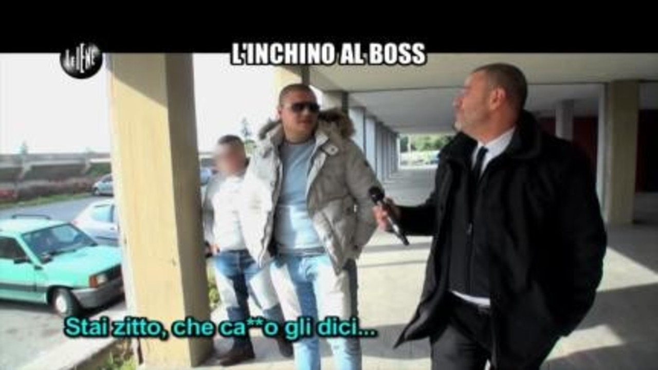 GOLIA: L'inchino al Boss
