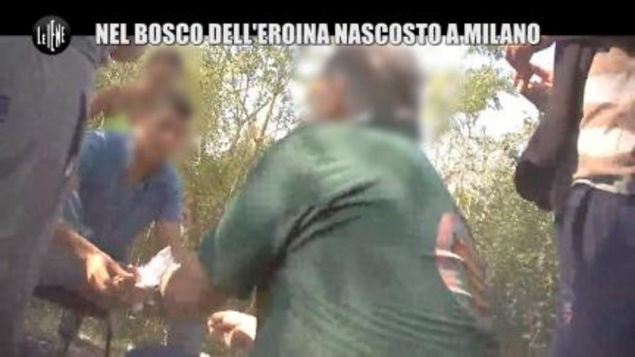 CIZCO: Nel bosco dell'eroina nascosto a Milano
