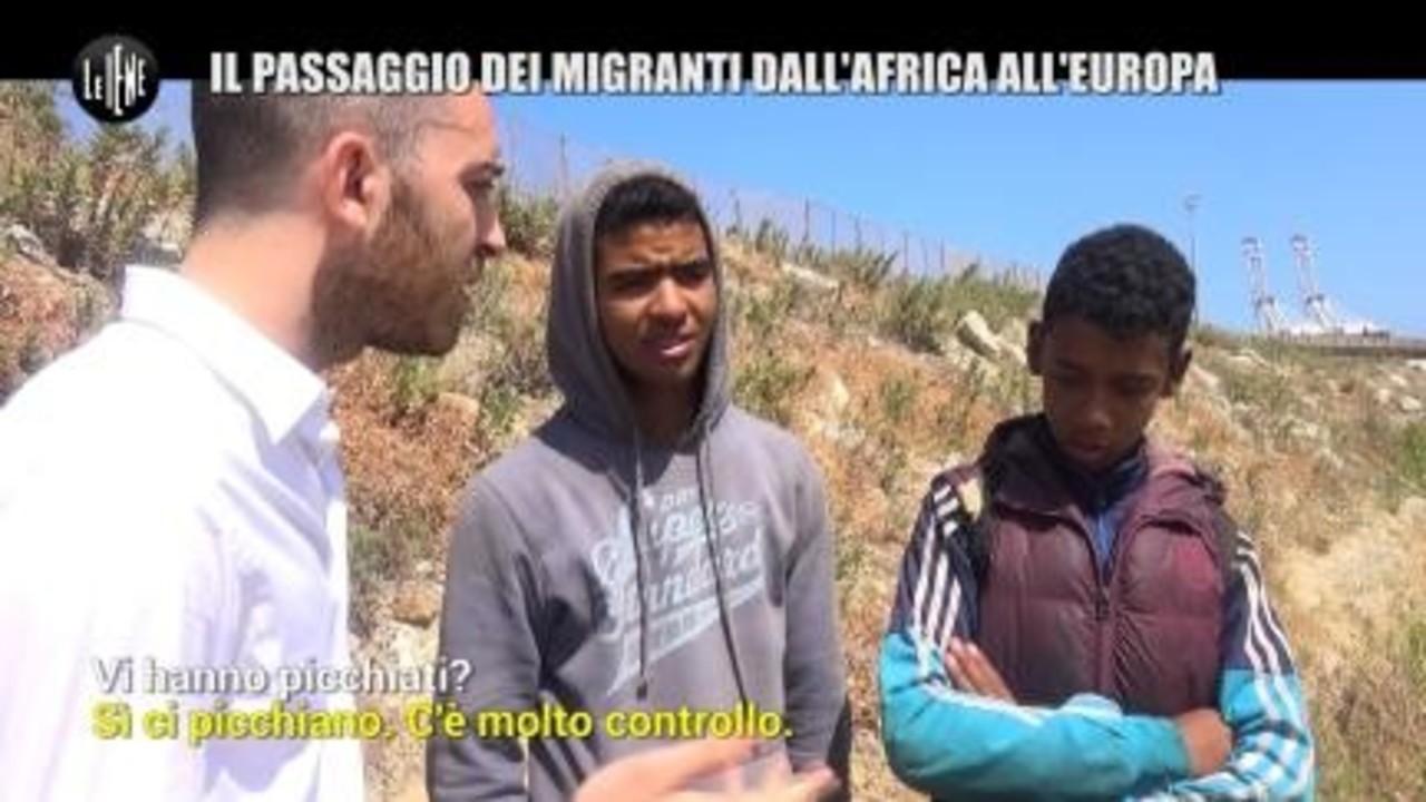 MAISANO: Il passaggio dei migranti dall'Africa all'Europa