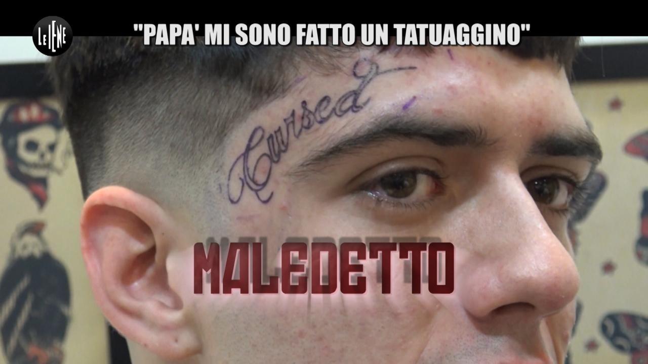 """MITCH: """"Papà mi sono fatto un tatuaggino"""""""