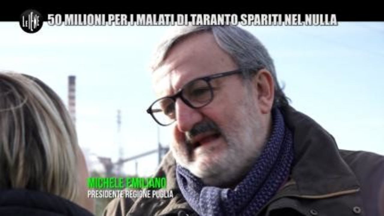 Ilva di Taranto Nadia Toffa