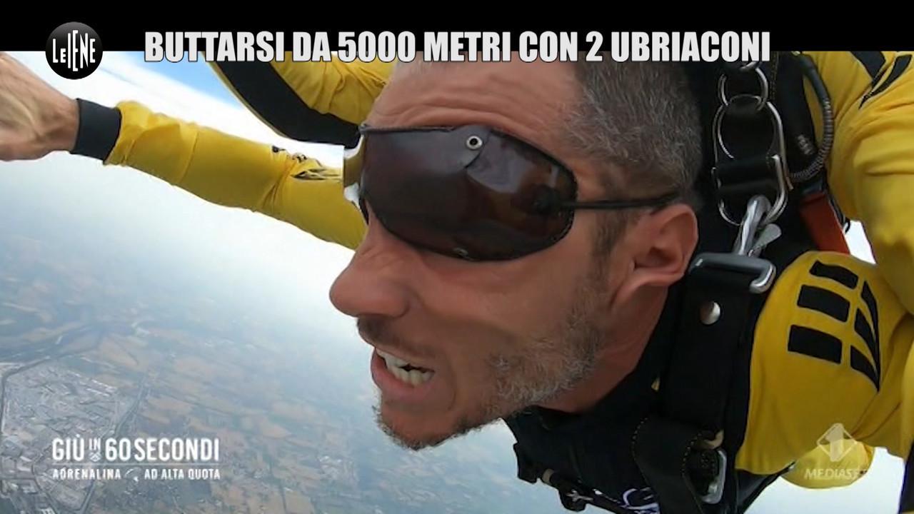 Alvin paracadute istruttori ubriachi