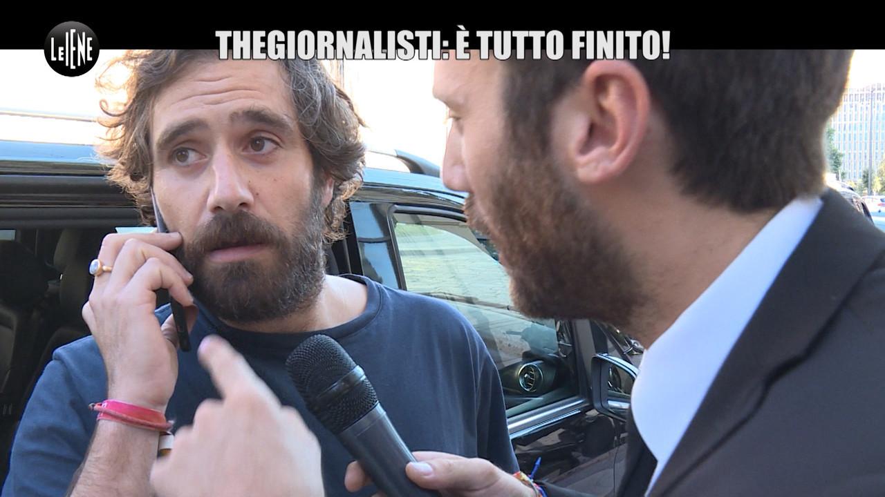 Tommaso paradiso lascia the giornalisti